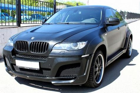 leather BMW x6