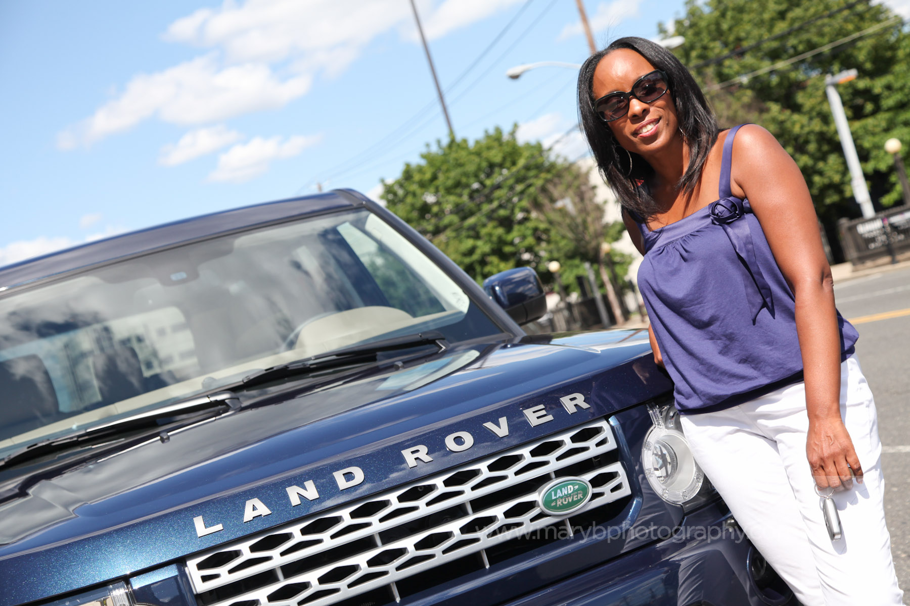 Riding Shotgun: Sakina Cole & the Land Rover LR4