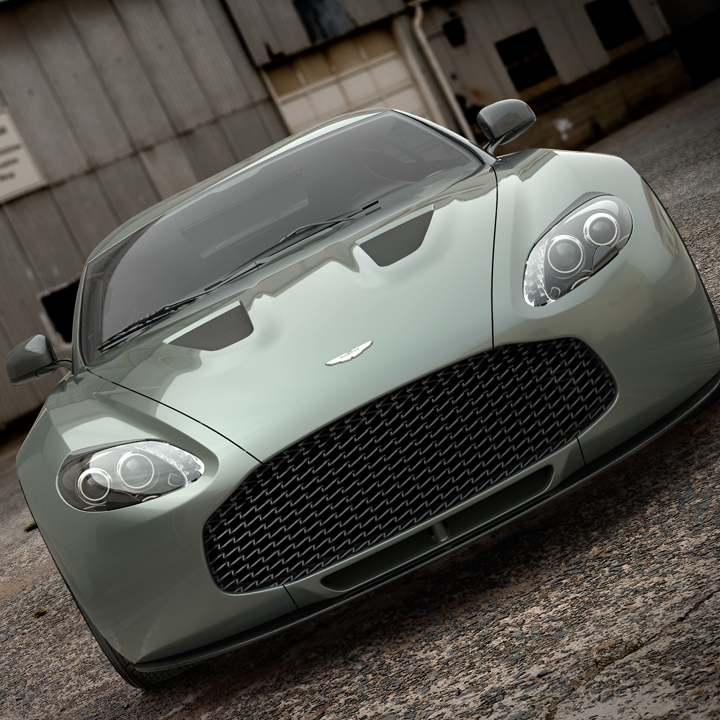 Aston Martin's Zag, the V12 Zagato