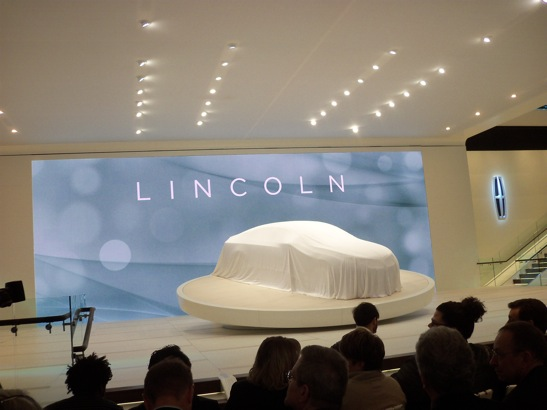 REVEALED: Lincoln MKZ Concept Car