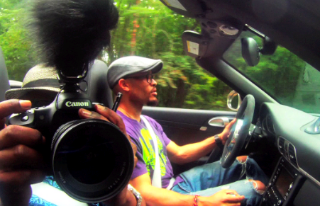 #5 CELEBRITY RIDE (video): Pete Chatmon & Porsche 911
