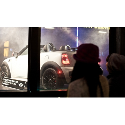 Get naughty with a MINI Cooper Peepshow