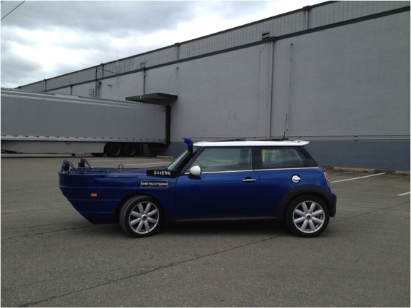 REVEALED: MINI Cooper Yachtsman Makes A Splash
