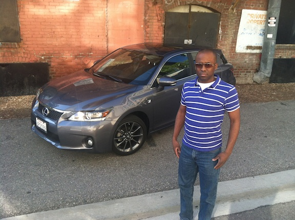 Korby with Lexus CT 200 Hybrid
