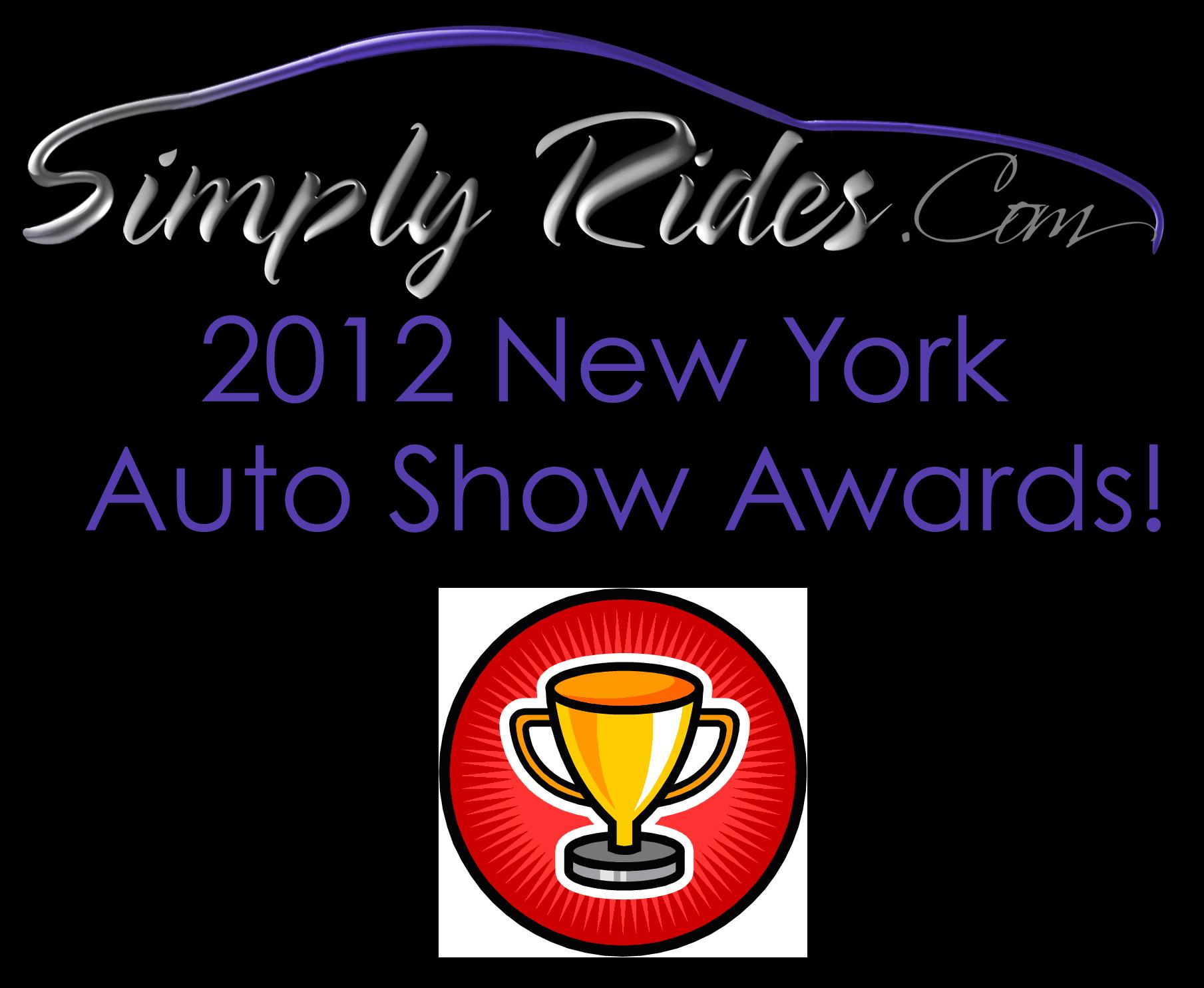 #4 SimplyRides.com 2012 NY Auto Show Awards