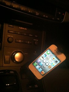 lexus ct 200h cell phone cradle