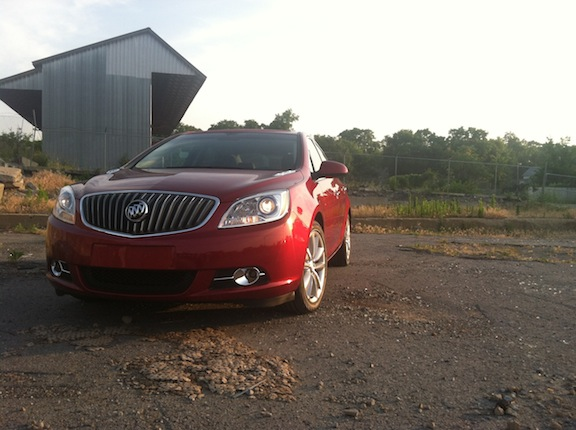 BEST BODY PART: Buick Verano, No Windex Needed