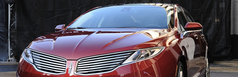 REVEALED: The 2013 Lincoln MKZ