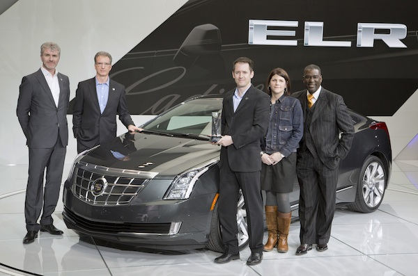 SNAPPED: 2014 Cadillac ELR Wins Eyes On Design Award