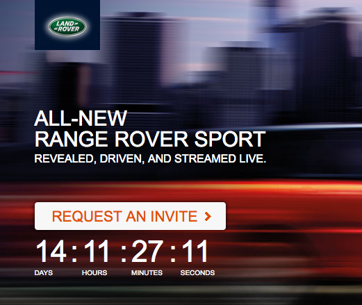 REVEALED: The All-New Range Rover Sport Arrives in New York