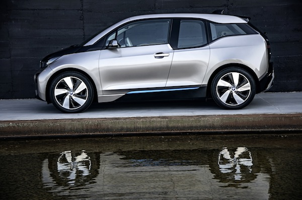 VIDEO: BMW i3 Reveal (NY, NY)