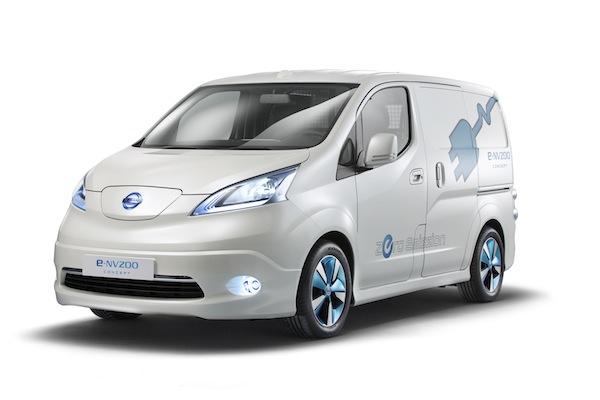 Nissan's 100% Electirc Van: e-NV200