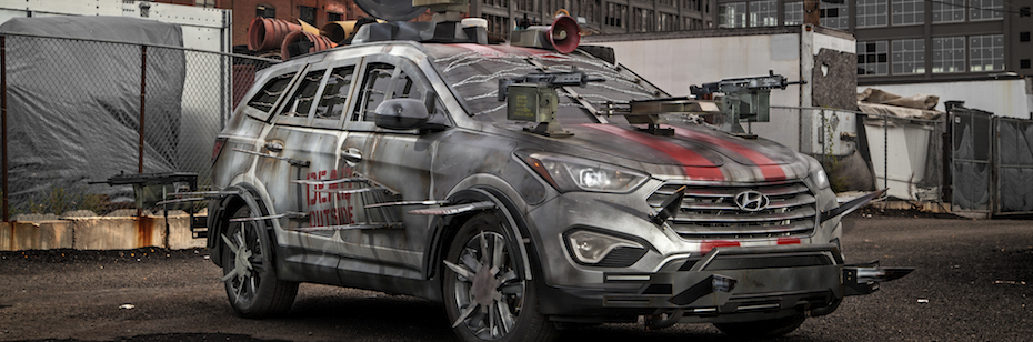 "VIDEO: Hyundai's ""Walking Dead"" Zombie Machines"