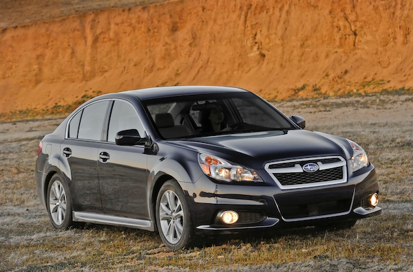 6 SPEED TEST DRIVE: 2014 Subaru Legacy 2.5i Limited