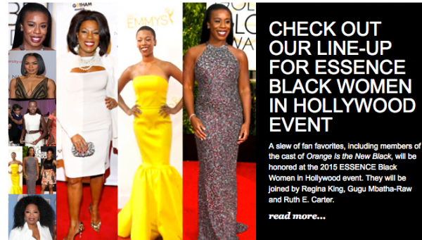 Lincoln Sponsors ESSENCE Black Women In Hollywood Luncheon