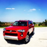 toyota 4runner at beach