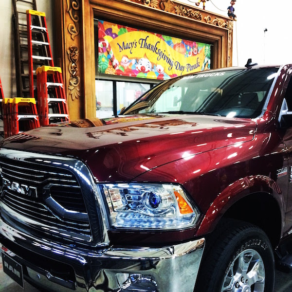 Ram Truck for Macy's Thanksgiving Day Parade 2015