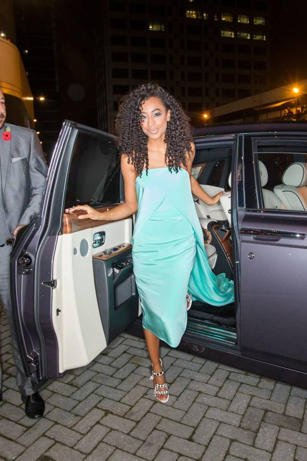 GALLERY: Corinne Bailey Rae and others arrive in Rolls-Royce for MOBO Awards