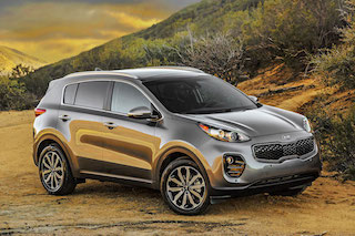 Kia Sportage Roams the Deserts of San Diego