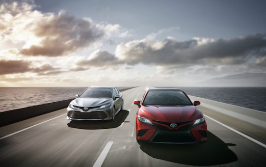 Toyota Displays all-new 2018 Toyota Camry at the New York International Auto Show