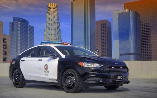 Ford Introduces First Pursuit-Rated Hybrid Police Car