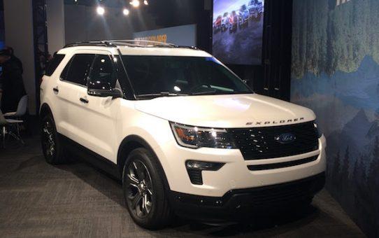 Ford Unveils 2018 Explorer & Explorer Sport
