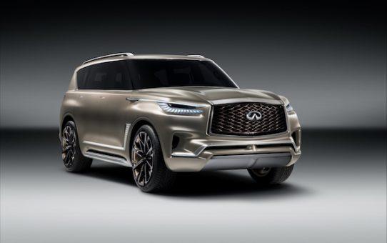 INFINITI Unveils the QX80 Monograph Concept SUV